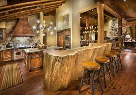 Kitchen Designs With Islands And Bars Rustic Kitchen Island Bar Photogiraffe Me