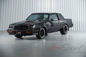 1987 buick grand national turbo coupe grand national turbo stock