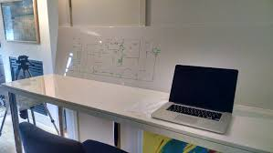 Ikea Standing Desk Legs by Standing Dual Whiteboard Desk Workbench Simple Ikea Hack Album