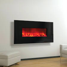 electric wall mounted fireplace flame mfe5050bk houston 50 inch