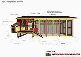 chicken coop building plans pdf with chicken house design nz 8461