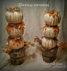 pumpkin topiary cathy s craft corner white pumpkin topiary diy