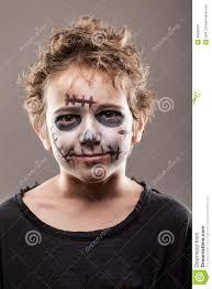 screaming walking dead zombie child boy stock photo image 49995841