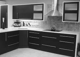 Red Black White Kitchen - home design 87 astonishing black glass tile backsplashs