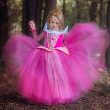 princess sleeping beauty aurora ball gown dresses for girls