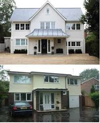 Home Exterior Remodel - beautiful before and after exterior remodel home makeover