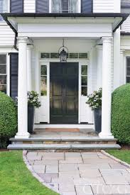 Black Front Door Ideas Pictures Remodel And Decor by Best 25 Colonial Front Door Ideas On Pinterest What Is A