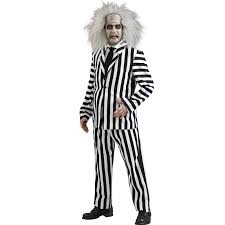 party city men halloween costumes beetlejuice deluxe costume buycostumes com