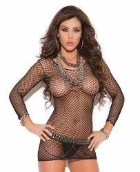 black dress women fence net bodycon micro mini sheer long