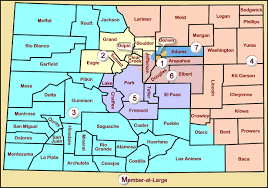 map of colorado by population rangevoting org splitline districtings of all 50 states dc pr
