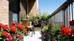 beautiful balcony garden design ideas cityscape gardening youtube
