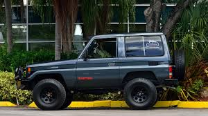 military land cruiser 1989 toyota bj 71 land cruiser s169 kissimmee 2016