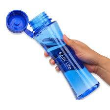 amazon com beautiful blue bpa free water bottle best for women