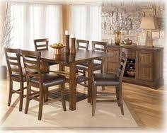 Ashley Furniture Kitchen Table Sets by The Nola Dining Room Table With 4 Chairs From Ashley Furniture
