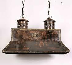 vintage copper ceiling light handmade solid copper replica vintage smithy pendant l 452