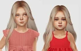 sims 4 kids hair nightcrawler muse hair kids toddlers at simiracle sims 4 updates