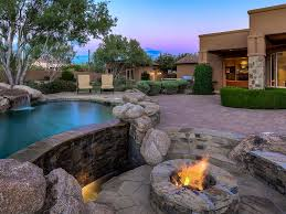 spectacular estate in gated community in north scottsdale with