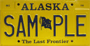 Ak Dmv Vanity Plates Sample License Plates Division Of Motor Vehicles Department Of