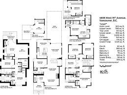 vancouver home floor plans home plan