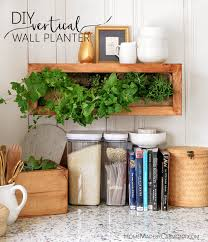 diy vertical wall planter home made by carmona