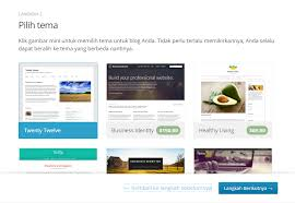 cara membuat website di internet cara membuat wordpress gratis