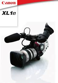 canon camcorder xl1 s user guide manualsonline com