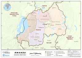 Map Of Rwanda 1 Rwanda Country Profile Logistics Capacity Assessment Wiki