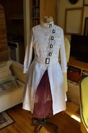 Halloween Lab Coat Costume Yohji Yamamoto Cotton Vintage Logo Doctor Lab Coat Asylum