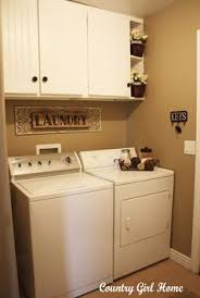 inspiring spaces u2013 laundry rooms dryer washer and curtain rods