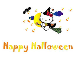 hello kitty halloween backgrounds wallpaper cave