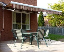 Awning Over Patio Awnings Reduce Ac Bills Of A South Facing Home