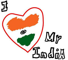 coloring pages of independence day of india i love my india heart wallpaper of 15th august independence day