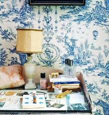 Toile Bathroom Wallpaper by 316 Best Toile A Classic Images On Pinterest Toile Beautiful