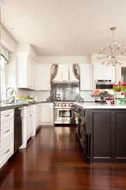 best floor color for white kitchen cabinets light and bright modern luxury melinda mandell white