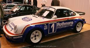 rothmans porsche 911 porsche 1981 911 sc rs rothmans media car the history of cars