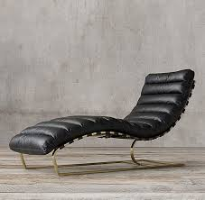Leather Chaise Lounge Leather Chaise