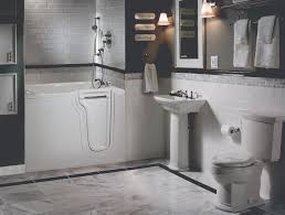 mansfield plumbing debuts its first walk in tub with soaker
