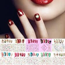 1pcs cute nail tattoo sticker cartoon nail art sticker for