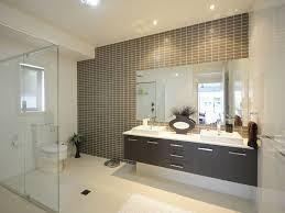 Bathroom Design With Builtin Shelving Using Ceramic Bathroom - Modern ensuite bathroom designs