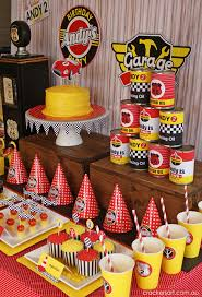cing themed party race cars birthday party ideas birthdays race car party and