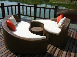 Patio Replacement Cushions Patio Furniture 42 Unforgettable Curved Patio Sofa Image Design