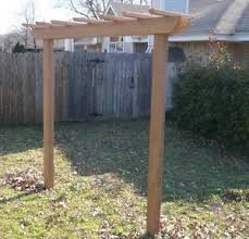 pergola swing new cedar wood 4x4 garden entry arbor pergola swing stand frame 7