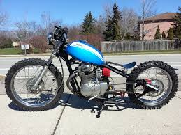 european motocross bikes honda sl350 dirt bike bobber build