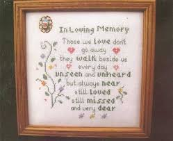 in loving memory items in loving memory cross stitch chart poppy and 50 similar items