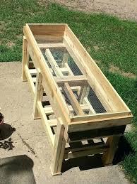 planter box bench plans 100 images diy planter box bench
