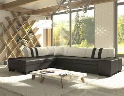 canapé d angle avec rangement canapé d angle convertible noir et blanc avec coffre