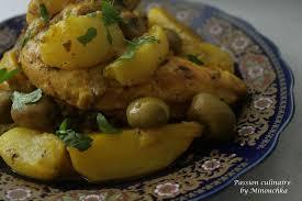 cuisiner navets tajine de poulet aux navets et olives culinaire by minouchka