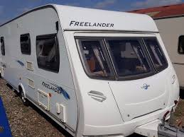 2008 lunar freelander 575eb 4 berth fixed bed caravan priced to