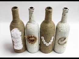 Diy Wine Bottle Vases 19 Diy Wine Bottle Decoration Ideas Youtube