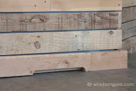 Reclaimed Wood Reception Desk Reclaimed Reception Desk Windsong Productions